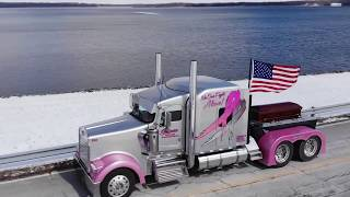 Truck driver's final ride