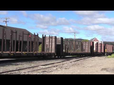 Northern Maine Railway Train