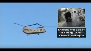 Chinook flyover of Secret Space Program whistleblower Corey Goode's home