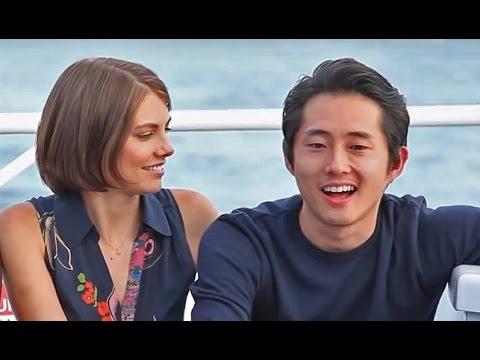 Steven Yeun and Lauren Cohan ✗ Stauren