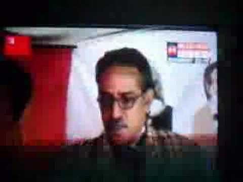 Prachanda makes appearence on an Indian TV