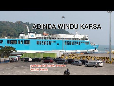 kapal ferry adinda windu karsa | pertama melihat pelayanan dari windu karsa