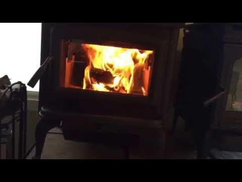 Wood Burning Stove Compared to a Gas Fireplace