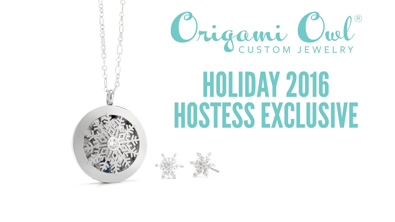 Origami owl holiday 2016 hostess exclusive youtube origami owl holiday 2016 hostess exclusive jeuxipadfo Images