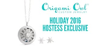 Origami Owl Holiday 2016 Hostess Exclusive