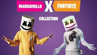 Exclusive Marshmello x Fortnite Collection