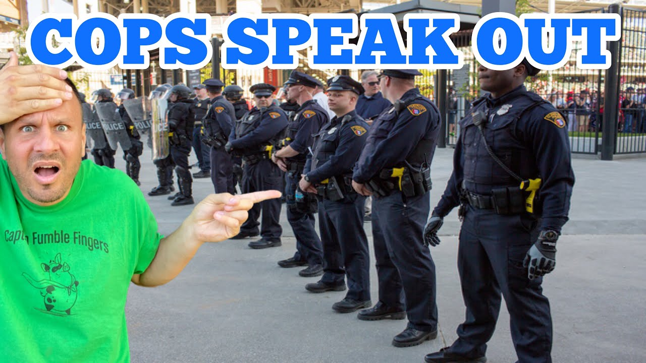 THE COPS SPEAK OUT 👮♂️ 🚔 👮♀️