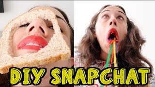DIY SNAPCHAT FILTERS! by : Miranda Sings