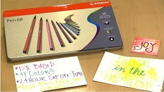 Creative Play With Stabilo Pen 68s by Joggles.com