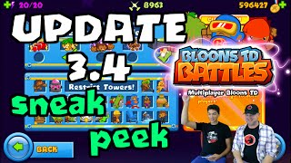 BTD Battles - Update 3.4 sneak peek