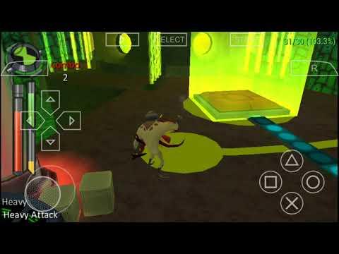 ben-10-alien-force-the-game-autopilot-part-1-android-ppsspp-walkthrough