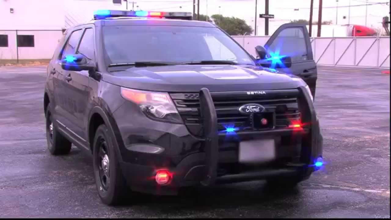 2014 Ford Police Interceptor Utility Black Swps
