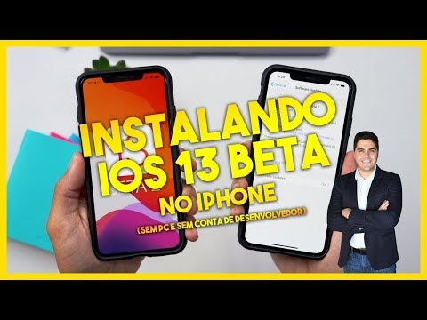 Como instalar iOS 13 BETA no iPhone sem ser Desenvolvedor e sem PC