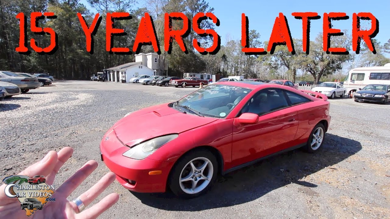15 Years Later 2003 Toyota Celica Gts Review A Car That Looked Fast