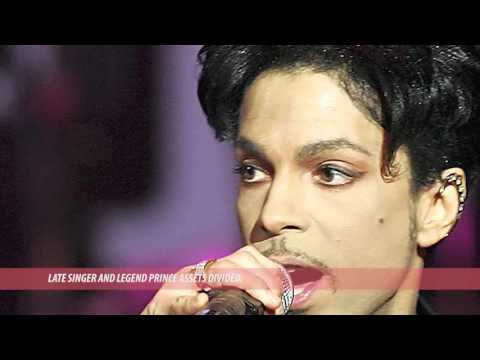 E. News  | Late 'Purple Rain' Singer, Prince's Asset Divided
