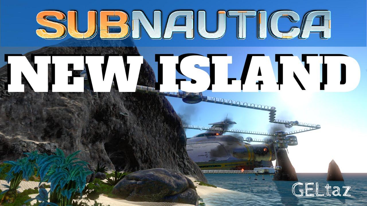 subnautica new island experiemental mod youtube. Black Bedroom Furniture Sets. Home Design Ideas