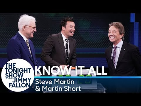 Know It All with Steve Martin and Martin Short