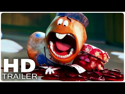 SAUSAGE PARTY Red Band Trailer 2      Official Poster
