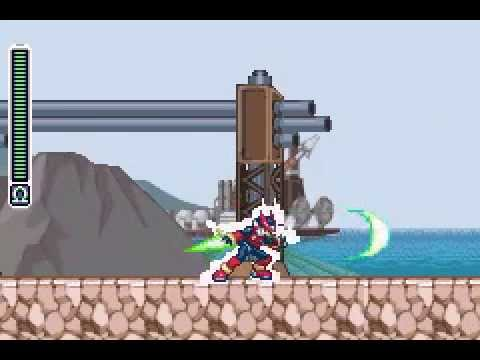 Megaman Zero 3 Omega Patch [Air Dash+Hell Combo]
