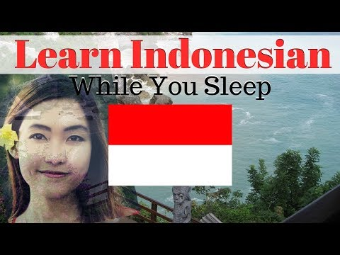 Learn Indonesian While You Sleep 😀 130 Basic Indonesian Words and Phrases 👍 English/Indonesian