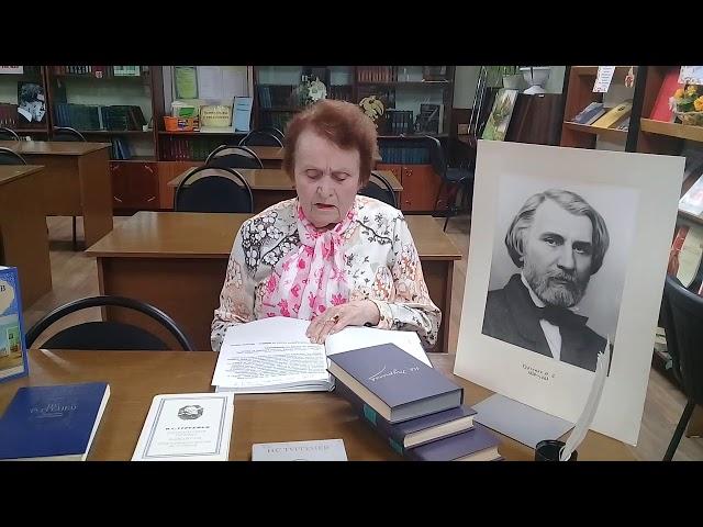 Изображение предпросмотра прочтения – ЛидияГетман читает отрывок изпроизведения «Ася» И.С.Тургенева