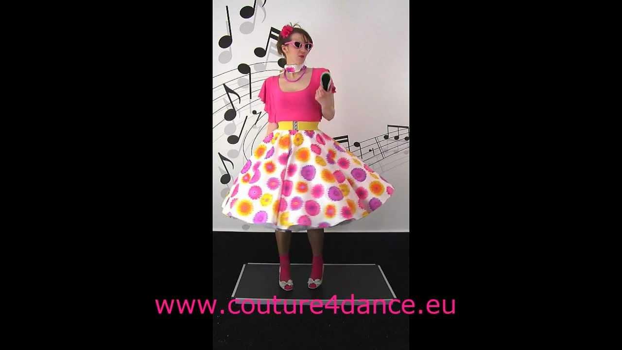 Tellerrock / Circleskirt Gerbera+Shirt Emilia+ Petticoat Cinderella