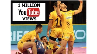 Pro Kabaddi 2018: Tamil Thalaivas vs Telugu Titans (28-33) Match Highlights [Hindi] thumbnail