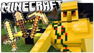 Minecraft | MAGIC GOLEM MINIONS! | Better Gold Minecraft Custom Command