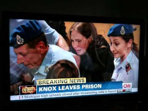 Amanda Knox Verdict Reaction On CNN