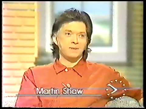Martin Shaw and Paul King - Good Morning Britain interview - August 1985 1/2