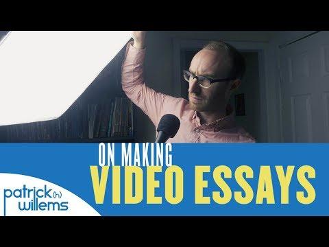 On Making Video Essays