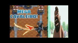 VAZOU GAMEPLAY DAS NOVAS CARTAS MEGA CAVALEIRO E MAIS