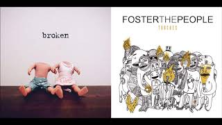 Broken Kicks - Foster The People vs lovelytheband (Mashup)