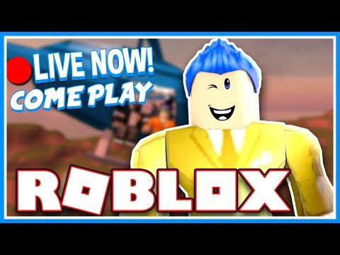 🔴 Roblox Live Stream | Jail Break, Phantom Forces, Shark Bite, MM2, Flood Escape & MORE Join Me!