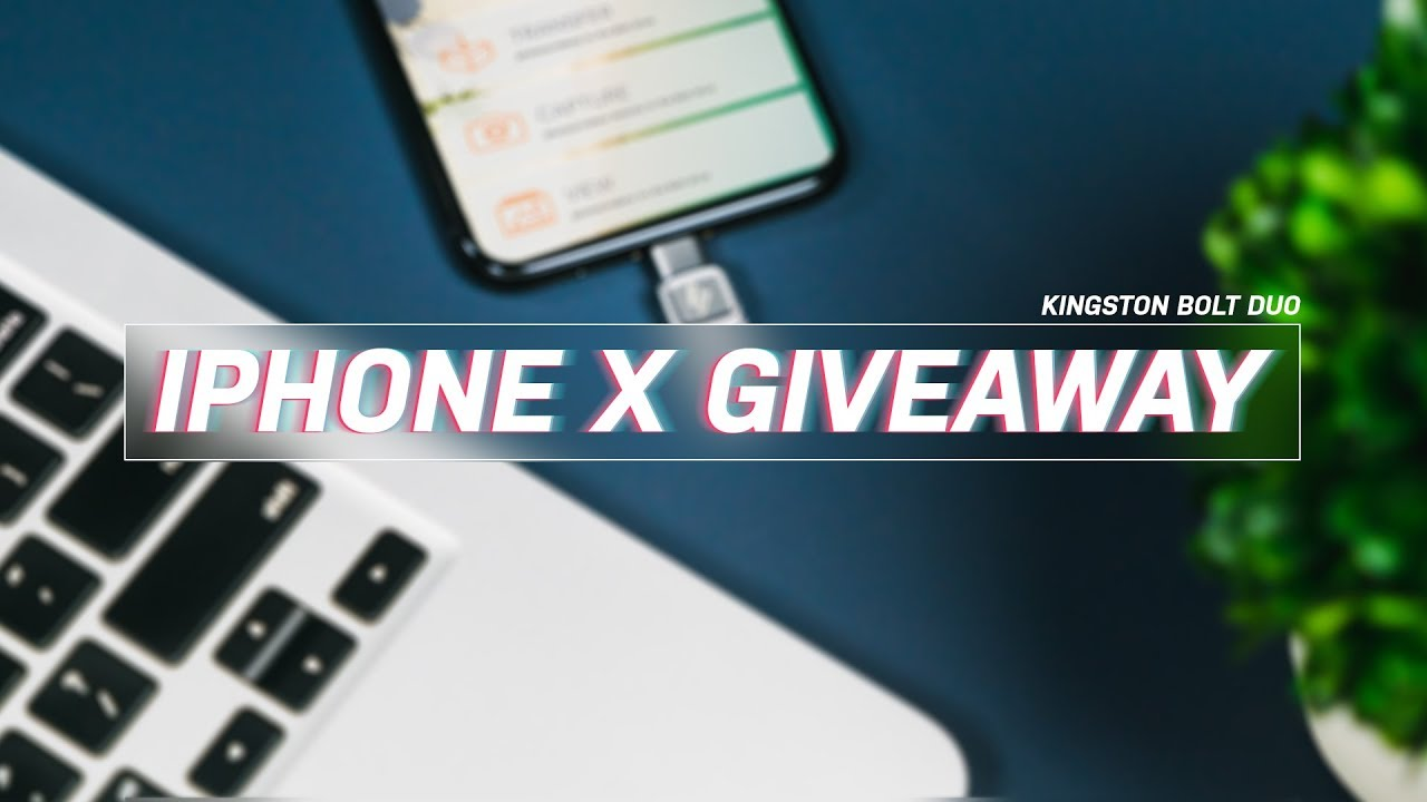 Giveaway: Enter to win Apple's brand new iPhone X