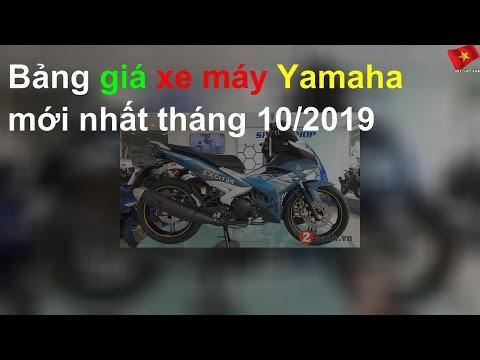 Bảng Giá Xe Máy Yamaha Mới Nhất Tháng 10/2019