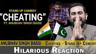 Hilarious Reaction on Cheating - Stand Up Comedy ft. Anubhav Singh Bassi