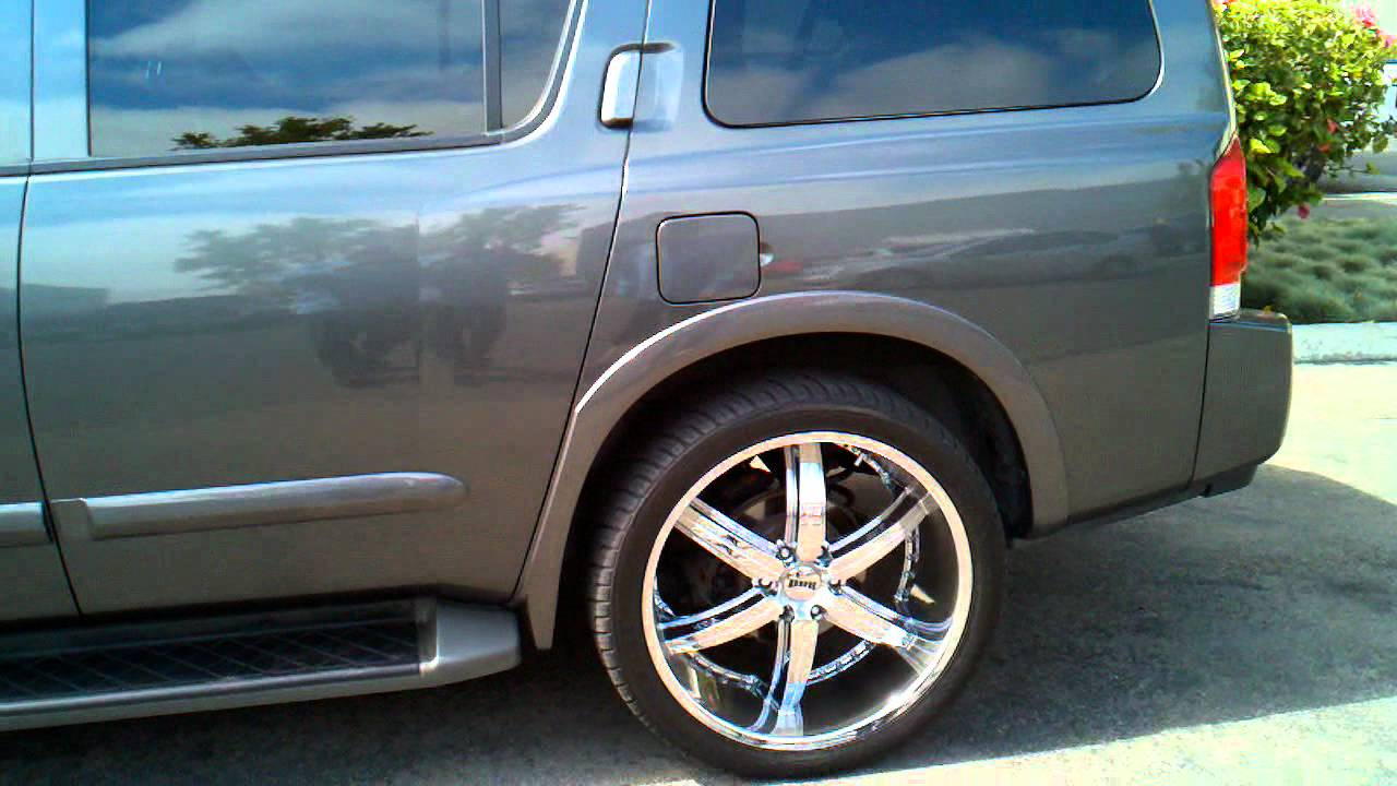 Nissan Armada On Dubs By 2swift805