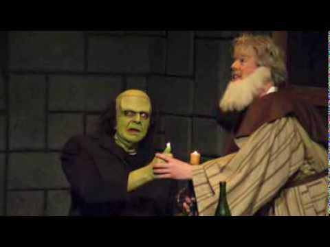 Behind the scenes: Young Frankenstein: The Musical