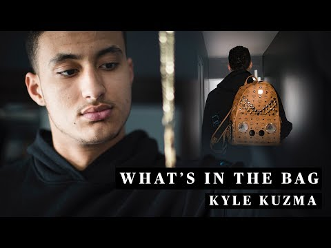 Kyle Kuzma's Travel Essentials