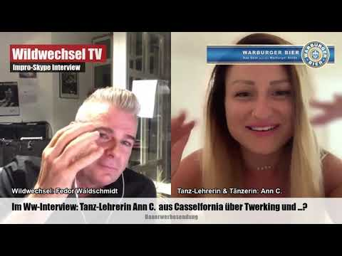 Ann C über Twerking im Ww Skype Interview
