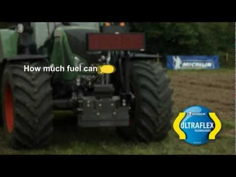 MICHELIN Ultraflex Technology agricultural tyres, how much fuel could you save?