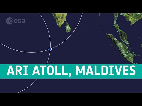Earth from Space: Ari Atoll, Maldives