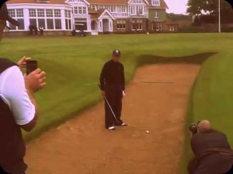 Gary Player At The Open -  Muirfield 2013