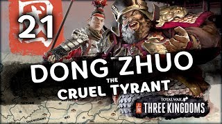 MASSIVE BATTLE OF 10,000 SOLDIERS | Total War: Three Kingdoms (Dong Zhuo Campaign) #21