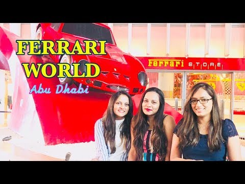 A Day at FERRARI WORLD Abu Dhabi | Amusement park in Abu Dhabi | DUBAI TRAVEL SERIES | Dhruva Gandhi