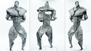 Origami Ripped Bodybuilder [Hi…