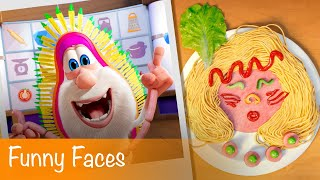 Booba - Food Puzzle: Funny Faces - Episode 7 - Cartoon for kids