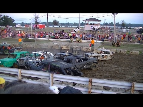 Ottawa County Derby - Fullsize Car Heat - 2013
