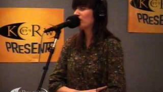 """Taken by Trees performing """"To Lose Someone"""" on KCRW"""